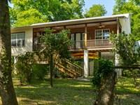 Serene Riverfront Home : O'brien : Suwannee County : Florida