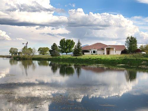 Luxury Home in Southwest Colorado : Lewis : Montezuma County : Colorado