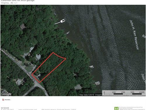 Lakefront Retreat Lot Buggs Island : Clarksville : Mecklenburg County : Virginia