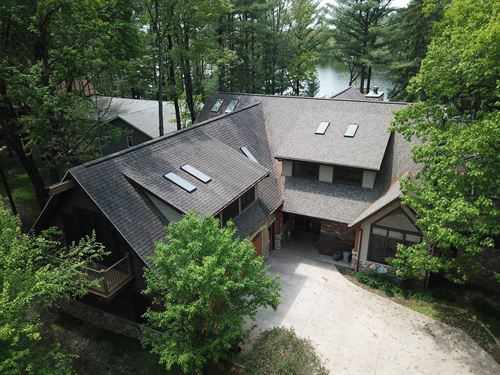 Luxury Lakefront Living Waupaca : Waupaca : Wisconsin