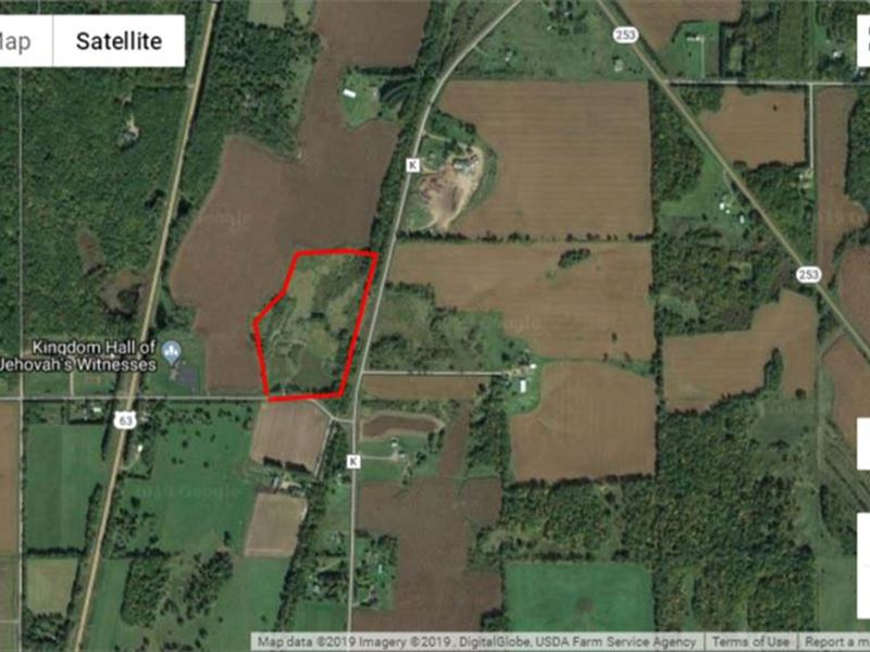 Spooner WI Hunting Building Land : Spooner : Washburn County : Wisconsin