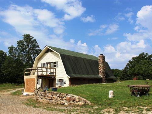 Country Home Acreage in Arkansas : Salem : Fulton County : Arkansas