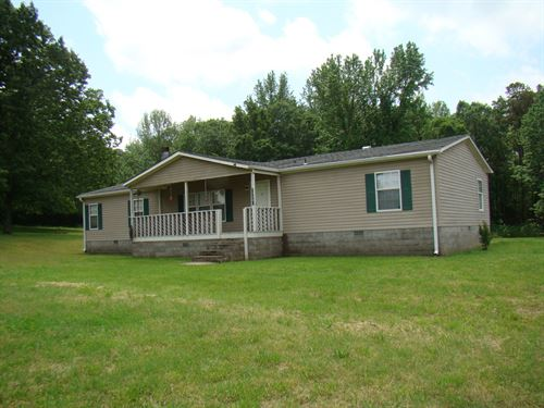Double Wide on 4.45 Acres : Shirley : Van Buren County : Arkansas