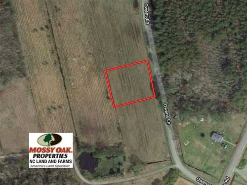 .6 Acre Water View Lot For Sale : Columbia : Tyrrell County : North Carolina