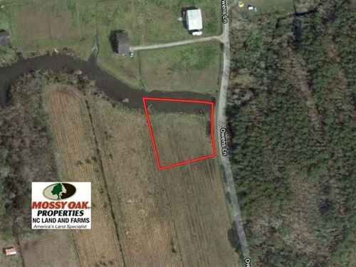 .87 Acres of Waterfront Land For : Columbia : Tyrrell County : North Carolina