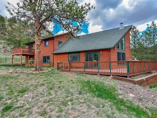 Secluded Mountain Home Florissant : Florissant : Teller County : Colorado