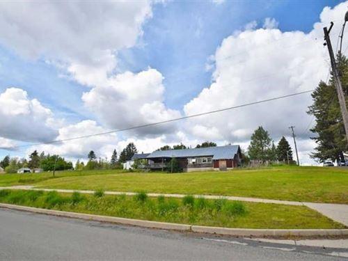 Latah, Washington One Acre Lot : Latah : Spokane County : Washington