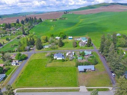 Quiet Lot in Latah Washington : Latah : Spokane County : Washington
