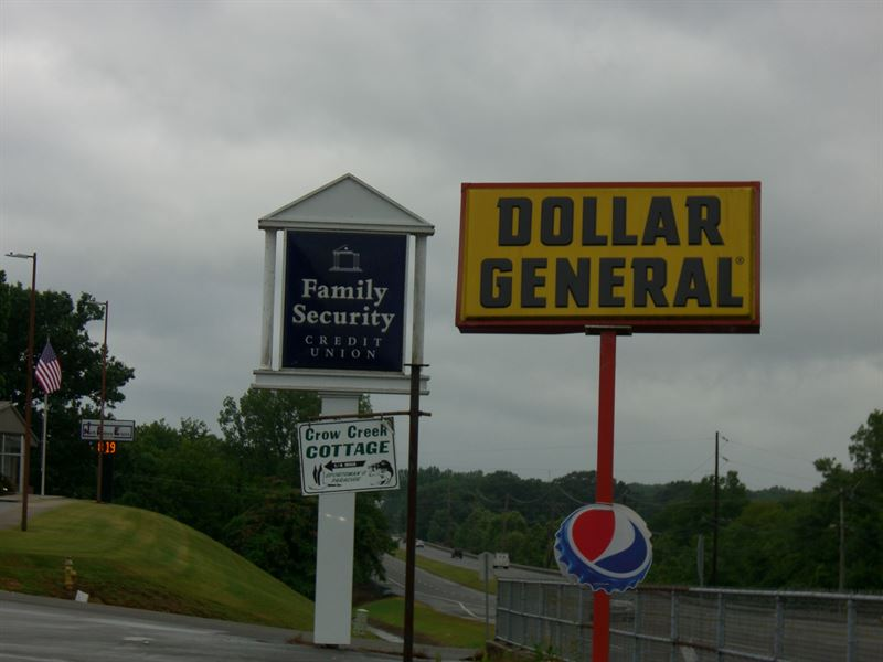 Dollar General And Vacant Building : Stevenson : Jackson County : Alabama