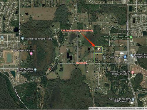 7.55 Acres Of Multi-Family Land : Kissimmee : Osceola County : Florida