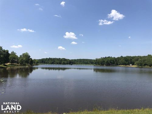 Lake Property With Cabin Sites : Duck Hill : Montgomery County : Mississippi