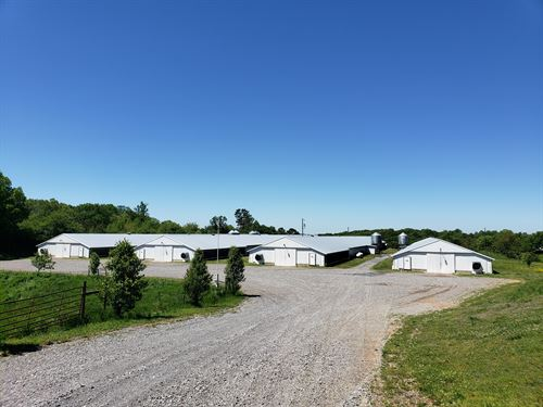 Immaculate 4 House Broiler Farm : Jasper : Pickens County : Georgia
