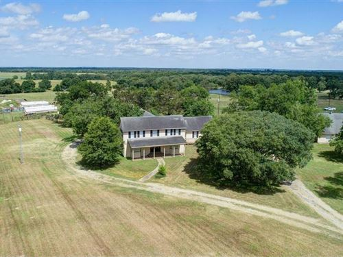 Country Home & Business With 6.5 A : Midway : Madison County : Texas