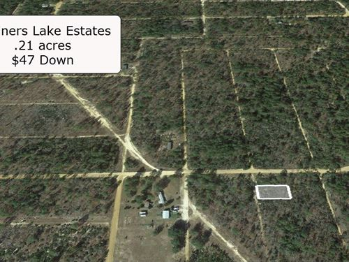.21 Acre Lot Surround By Many Lakes : Interlachen : Putnam County : Florida