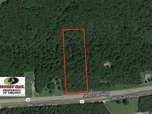 Reduced, 4.66 Acres of Residentia : Stuart : Patrick County : Virginia