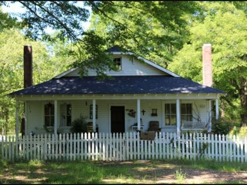 102 Acres With A Home In Holmes Cou : Lexington : Holmes County : Mississippi