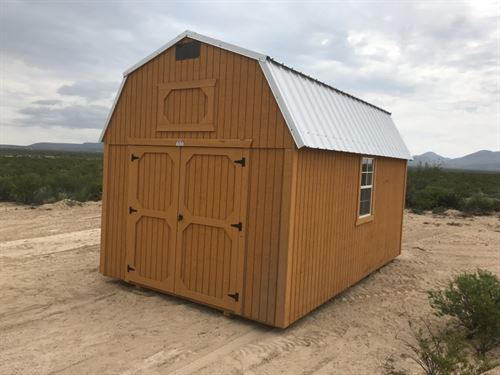 5 Acres With Small Off Grid Cabin : Alpine : Brewster County : Texas