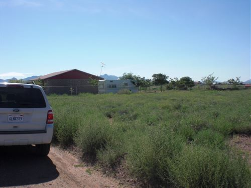 Power & Water At Lot, $100/Month : Douglas : Cochise County : Arizona