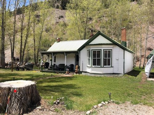 Historic Cottage : Lake City : Hinsdale County : Colorado