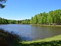 Cabin & Lake : Roberta : Crawford County : Georgia