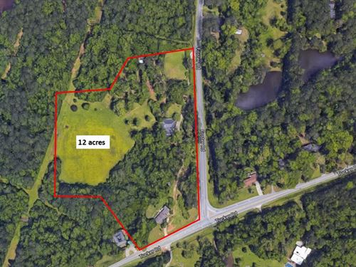 12 Acre Land Tract Available : Macon : Bibb County : Georgia