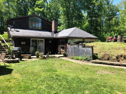 Nice Acreage, Pond And Fix Up Home : Laingsburg : Shiawassee County : Michigan