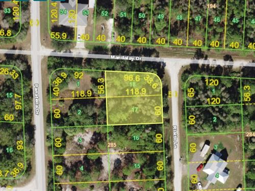 2 Lots Together In Punta Gorda : Punta Gorda : Charlotte County : Florida