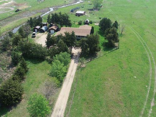 Buffalo Bill Ave, Acreage And Creek : North Platte : Lincoln County : Nebraska