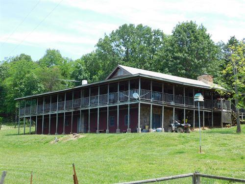 Home Near Center Point Trail Head : Compton : Newton County : Arkansas