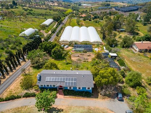Sustainable Agricultural/Farming : Escondido : San Diego County : California
