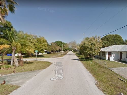 Residential Lot In Fort Myers, Fl : Fort Myers : Lee County : Florida