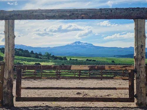 Diamond C Ranch : Burns : Eagle County : Colorado