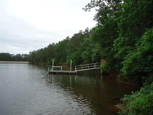 Beautiful Level 2.2 Acres Lake : Jenkinsville : Fairfield County : South Carolina