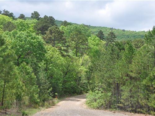 Scenic Oklahoma Hunting Land : Poteau : Le Flore County : Oklahoma