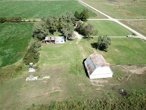 78 Acre Multi Use Farm For Sale : Blue Mound : Linn County : Kansas
