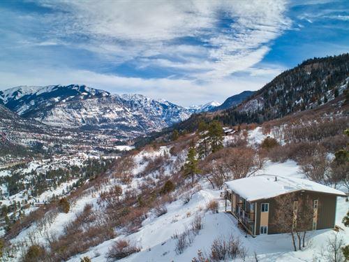 Colorado Mountain Cabin Ridgway : Ridgway : Ouray County : Colorado
