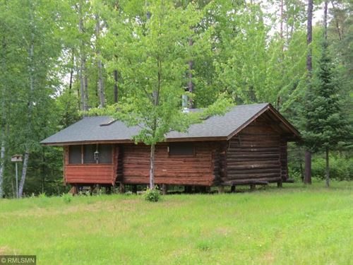 Log Cabin Wooded Acreage, Access to : Willow River : Pine County : Minnesota