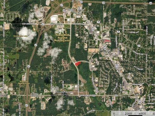 2.25 Acres Prime Commercial : Poplar Bluff : Butler County : Missouri
