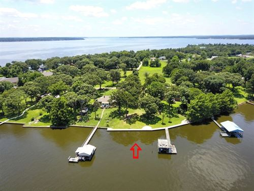 Waterfront Lot Lake Palestine, East : Chandler : Henderson County : Texas