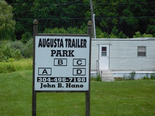 Trailer Park For Sale, Augusta, WV : Augusta : Hampshire County : West Virginia