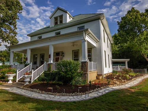 Historic Home On 2.48 Acres : Mooresburg : Hawkins County : Tennessee