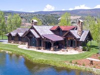 Madison Lodge At Elk Creek Ranch : Meeker : Rio Blanco County : Colorado