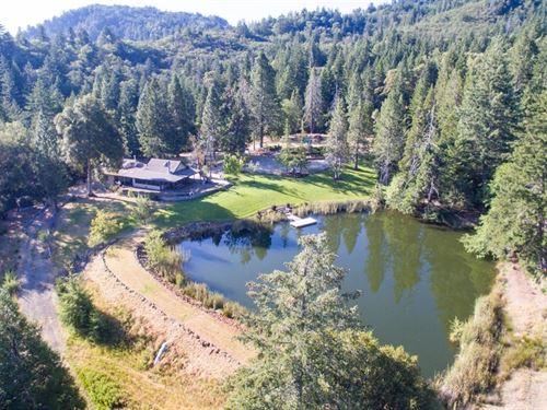 Mendocino County, Northern CA : Laytonville : Mendocino County : California