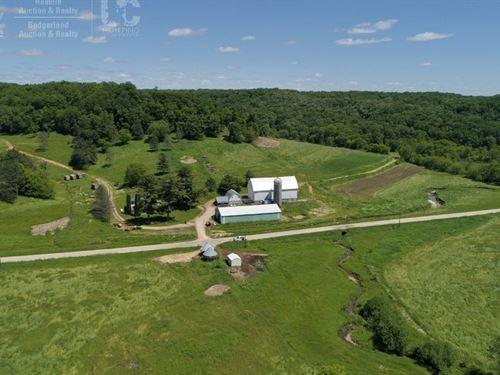 Fabled Farmstead Prime Hunting : Hillsboro : Vernon County : Wisconsin
