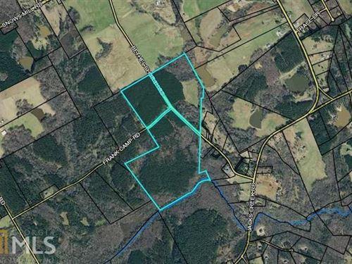 Nice Wooded 157.20 Acres : Monroe : Walton County : Georgia