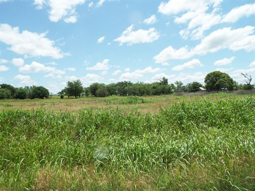 160 Acres Grass Pasture & Timber : Medford : Grant County : Oklahoma