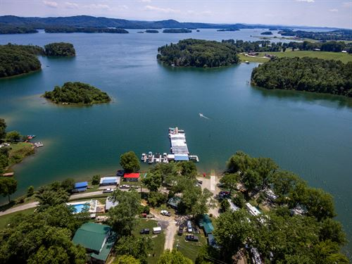Cherokee Lakefront Campground : Rutledge : Grainger County : Tennessee