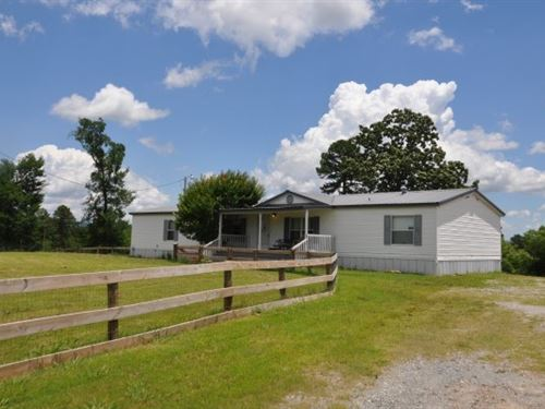 Oklahoma Country Home Kiamichi : Talihina : Le Flore County : Oklahoma