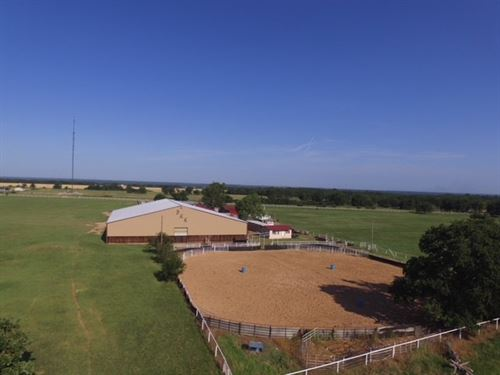 Oklahoma Horse Property Love County : Thackerville : Love County : Oklahoma