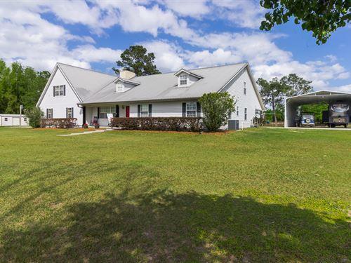Tremendous Custom Home : Live Oak : Suwannee County : Florida